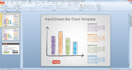 Free Hand Drawn Bar Chart Template for PowerPoint - Free PowerPoint Templates - SlideHunter.com