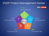 Free SQERT Project Management Model template for PowerPoint - Free PowerPoint Templates - SlideHunter.com