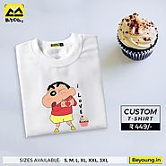 T Shirt Printing Online - Design Best Custom T Shirts in India ₹449