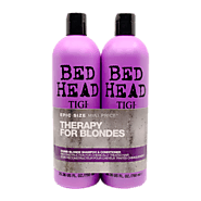 TIGI Bed Head dumb blonde shampoo & conditioner