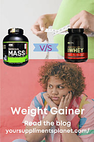 ON Serious Mass Gainer V/S Whey Protein