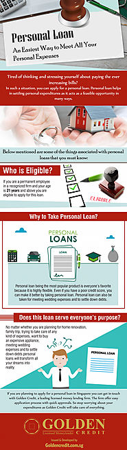 Pay all your Expenses easily with Personal Loans