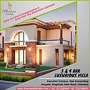 Step out from imagination, step into the Sharnam Lifestyle, 3 & 4 BHK luxurious villa with club and Golf living.