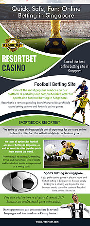 Football Betting | Call - 65 8651 6850 | resortbet.com