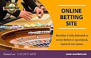 Online Betting Site | Call - 65 8651 6850 | resortbet.com