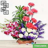 Send Flowers To Nagpur | Online Flower Delivery in Nagpur Same Day & Midnight | Yuvaflowers
