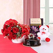 Send Flowers and Sweets to your Loved One By YuvaFlowers