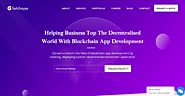 Helping Business Top The Decentralised World With Blockchain App Development