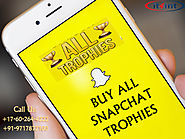 Buy All Snapchat Trophies