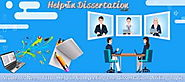 Students Need Tutor Help in Completing the Dissertation Writing Topic | Online Dissertation Help