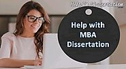 MBA Dissertation Statistics Service | Thesis Writing Help
