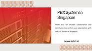 PBX System in Singapore - SIPTEL