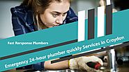 Emergency 24-hour plumber quickly Services in Croydon by Robin Walker - Issuu