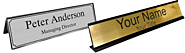 Versatile Desk Name Plates Australia for Wider Purpose