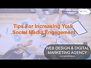 Tips for Increasing your Social Media Engagement