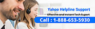 Yahoo Helpline Support 1-888-653-5930| Email Help
