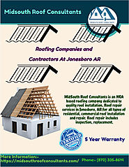 Roofing Companies Jonesboro AR - Midsouth Roofing Companies