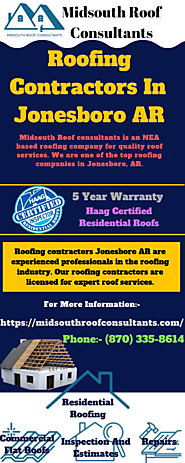 Midsouth Roof Consultants - Roofing Contractors Jonesboro AR
