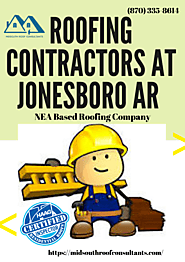 Midsouth Roof Consultants - Roofing Contractors At Jonesboro AR