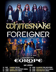 Whitesnake, Foreigner and Europe to tour together in 2020