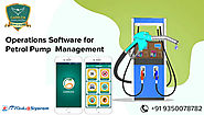 Petrol Pump Operations Software Makes Operation Management More Professional