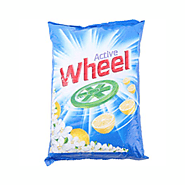 Buy Wheels Active Blue Detergent Powder – I kg Pack Online at Kifayat