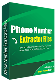 File Phone Number Extractor Software