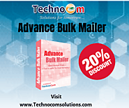 Get up to 20% discount on Advance Bulk Mailer