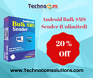 Hurry! Get 20% off on Android Bulk SMS Sender