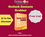 Hurry! Get 20% discount on Outlook Contacts Grabber
