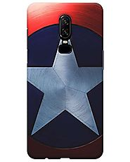 Captain Amaerica Shield Oneplus 6 Covers