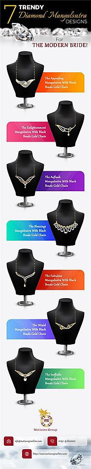 7 Trendy Diamond Mangalsutra Designs for Modern Brides!