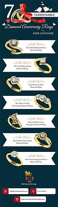 7 Fashionable Diamond Anniversary Rings for your Loved One