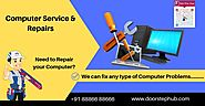 Website at https://www.doorstephub.com/computer-service-repair/Hyderabad