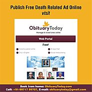 CREATE FREE OBITUARY WITHIN MINUTES THROUGH THIS CHANNEL