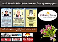 VISIT US TO BOOK MONTHS MIND AD INSTANTLY