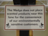 Wedge Co-op (Scent-Free Lane) - Minneapolis, Minnesota