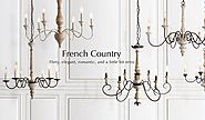 15+ French country shabby chic Chandeliers for home | LNC HOME