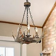 LNCHome rustic chandelier