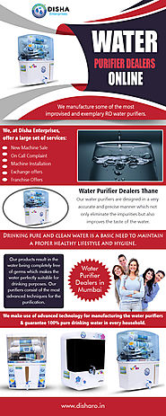 Water Purifier Dealers Online