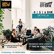 Residence with Lifestyle 1st Time in Vadodara only at Agora City Centre Karelibaug