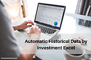 Automatic Historical Data Offered by Investment Excel