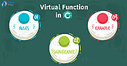 Learn Virtual Function in C++ with Real-time Example - DataFlair
