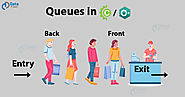 Queue in CC++ (FIFO) - How Queues are Implemented with Arrays & Linked List - DataFlair