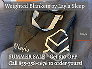 SUMMER SALE: $10 OFF Weighted Blanket