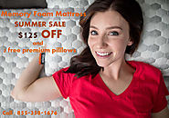 SUMMER SALE: $125 OFF on Layla Memory Foam Mattress