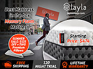 Best Mattress in the Box | Memory Foam Mattress - Layla Sleep