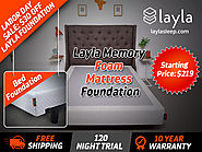 Labor Day Sale: Layla Memory Foam Mattress Foundation