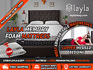 STORM LAYLA SLEEP - $100 OFF MATTRESS + 2 FREE PREMIUM PILLOWS ($150 VALUE)