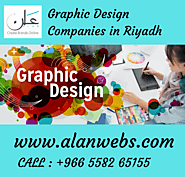 Significant Graphic Design Companies in Riyadh - Alanwebs